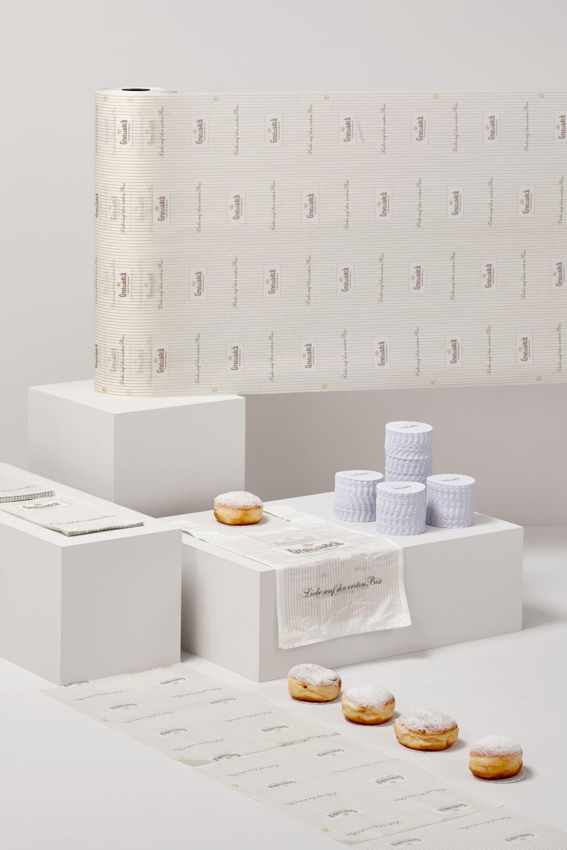 ASP Andreas Steiner Packaging Verpackung Sortiment Referenzen Groissböck Café Konditorei