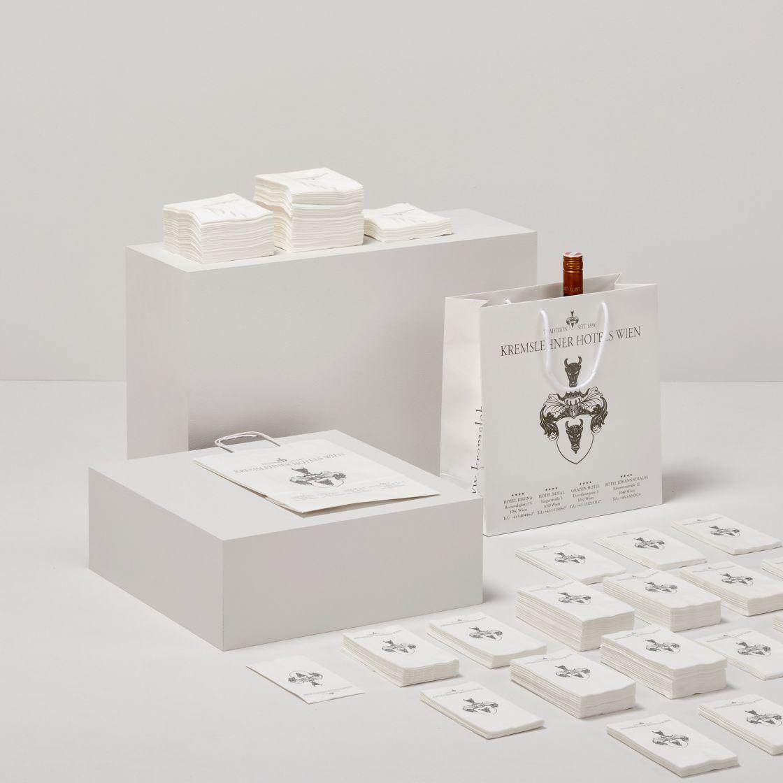 ASP Andreas Steiner Packaging Verpackung Sortiment Referenzen Kremslehner Hotels
