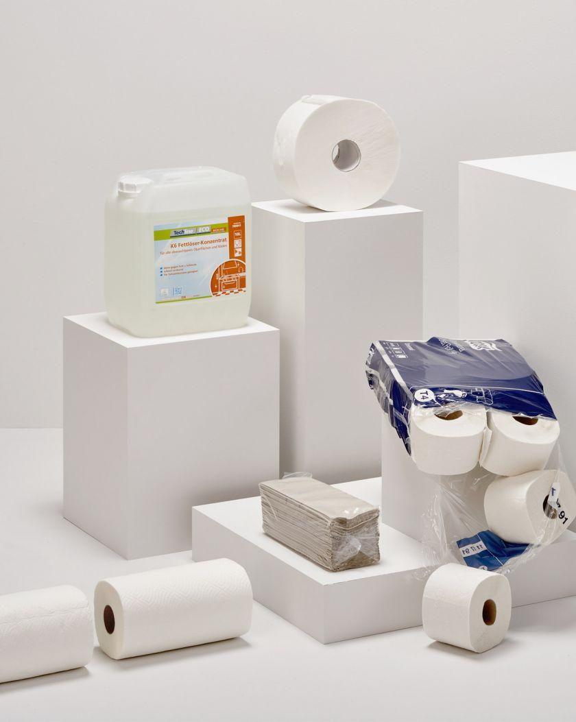 ASP Andreas Steiner Packaging Verpackung Sortiment Angebot Hygiene Artikel Sauberkeit