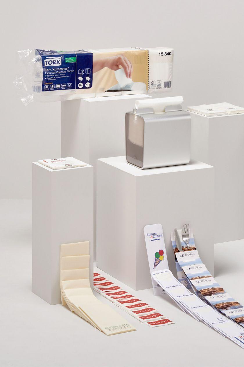 ASP Andreas Steiner Packaging Verpackung Sortiment Angebot Servietten Hygiene Gastrozubehör
