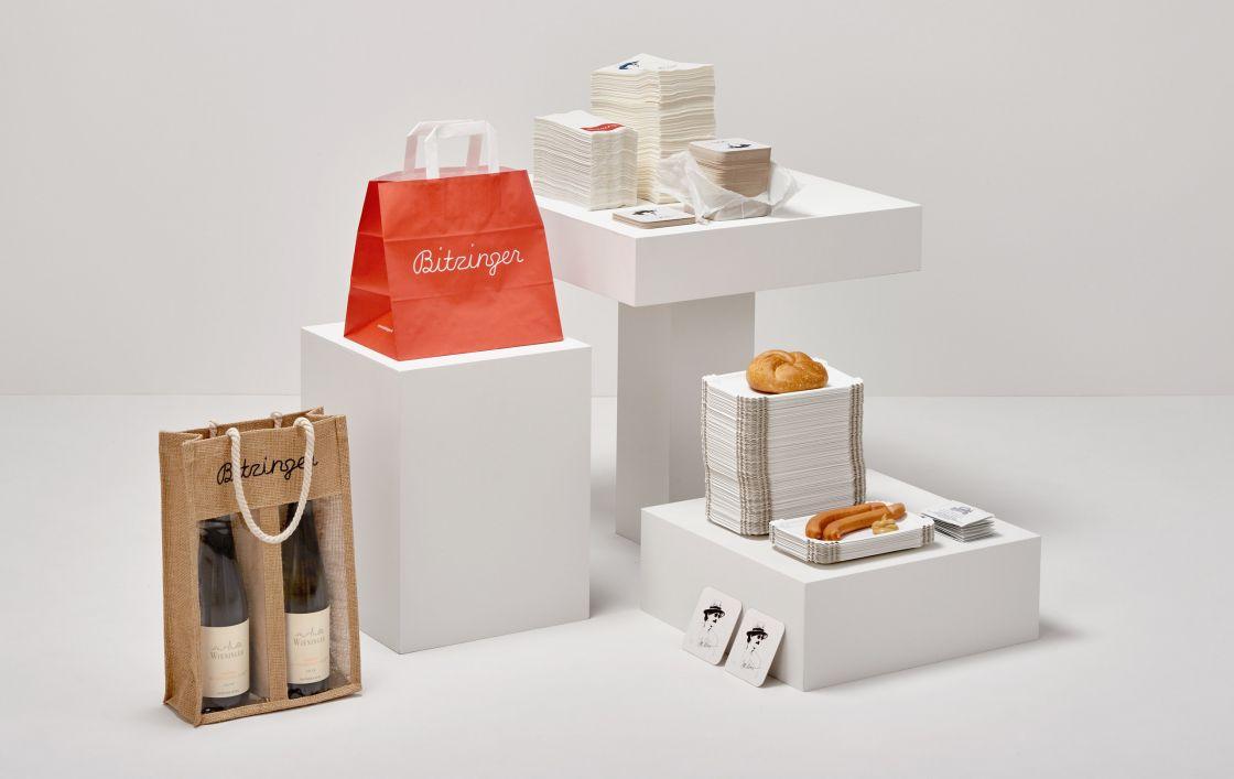 ASP Andreas Steiner Packaging Verpackung Sortiment Referenzen Bitzinger Gastronomie Würstelstand