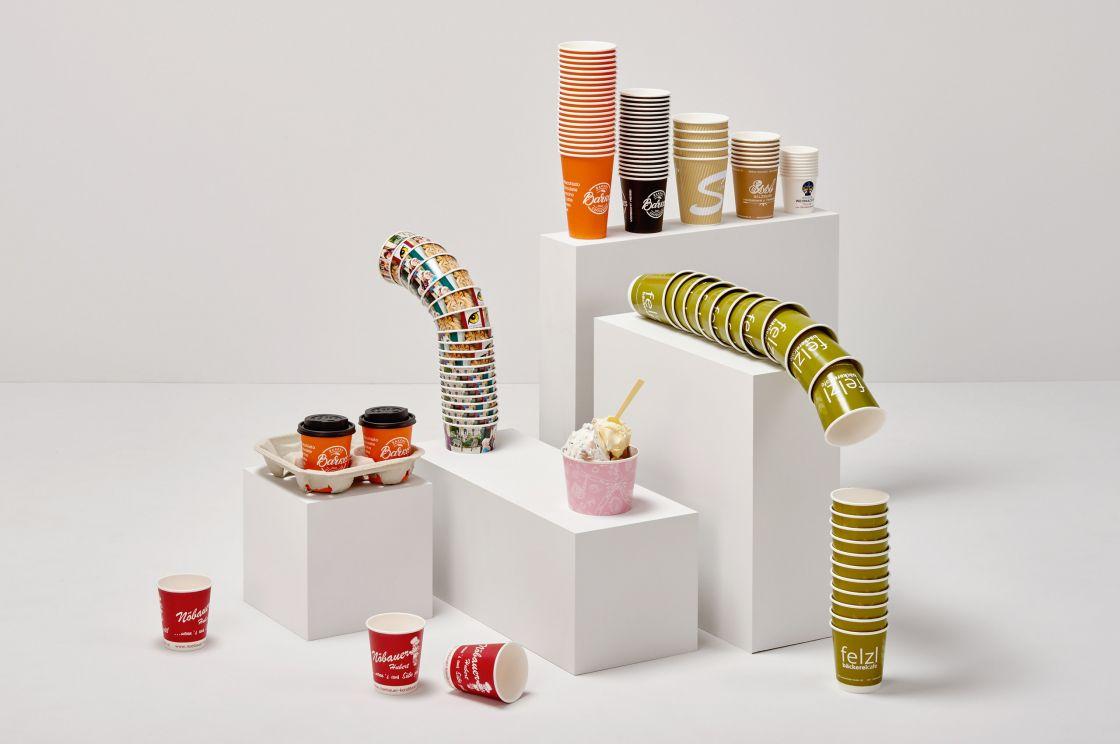 ASP Andreas Steiner Packaging Verpackung Sortiment Angebot Becher Cups Trinkbecher Eisbecher